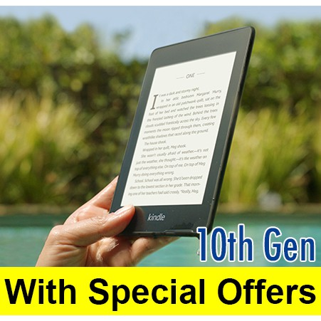Kindle Paperwhite with Special Offer