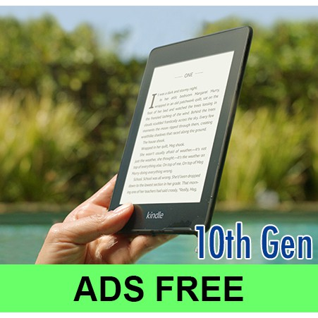 Kindle Paperwhite No Ads (Free Ads)