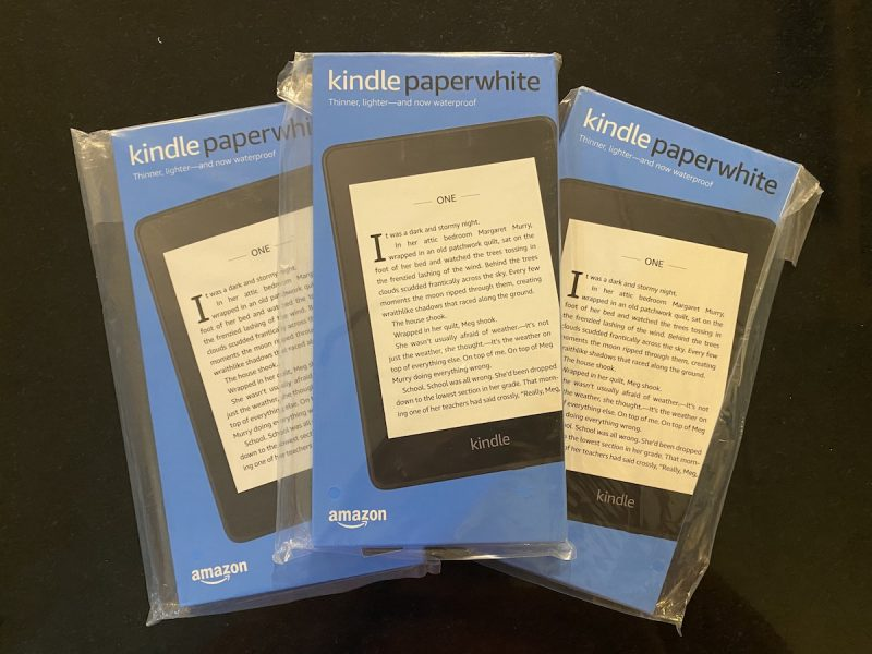 Kindle Paperwhite Package