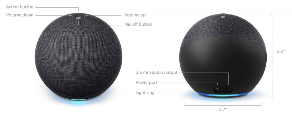 Echo Dot 4th Gen Technical Details