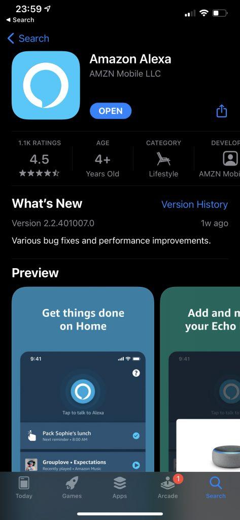 Download App Alexa