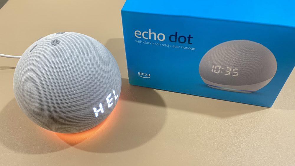 Echo Dot Setting up