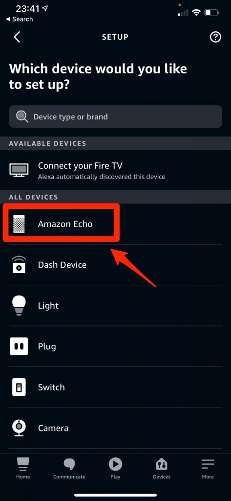 Add Amazon Echo