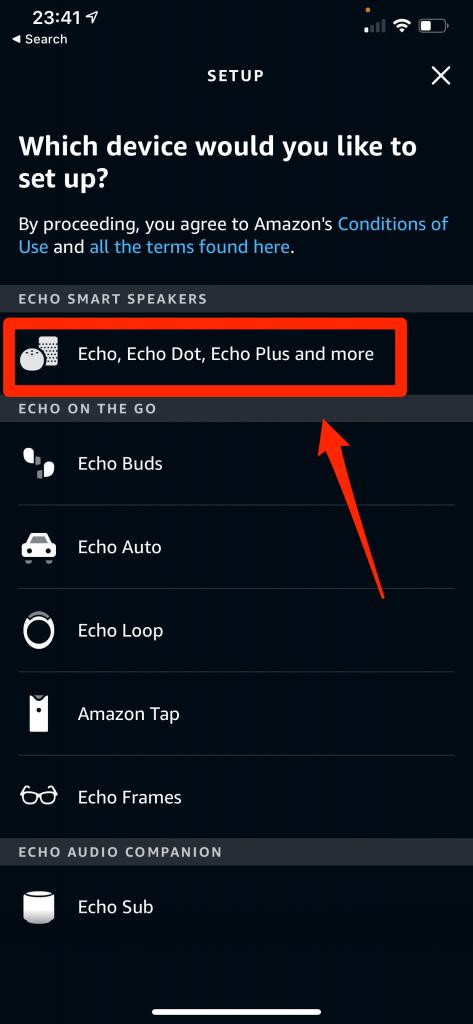 Add Echo Dot
