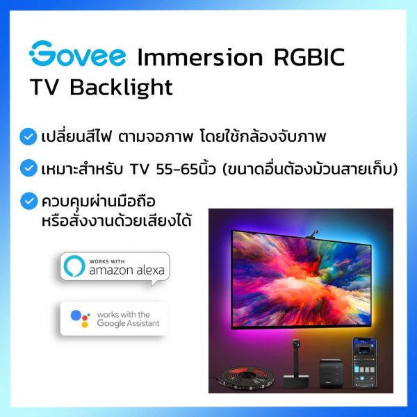 Govee Immersion TV RGBIC LED Strip Backlight